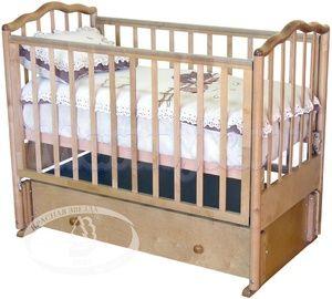 Детская кроватка с продольным маятником Красная звезда Можга Ангелина С 676