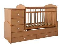 Детская кровать-трансформер на маятнике СКВ-7
