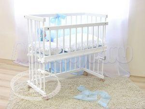 Детская кроватка на колесиках Красная звезда Можга Малуша С 751