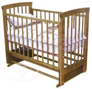 Детская кроватка с поперечным маятником Красная звезда Можга Марина С 700