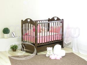 Детская кроватка-качалка Красная звезда Можга Любаша C 535