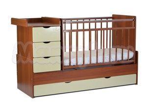 Детская кровать-трансформер на маятнике СКВ-5 Жираф