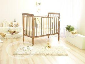Детская кроватка на колесиках Красная звезда Можга Машенька С 237