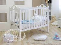 Детская кроватка-качалка Красная звезда Можга Любаша C 635