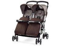 Прогулочная коляска для двойни Peg-Perego Aria Twin