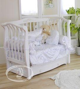 Детская кроватка с поперечным маятником Красная звезда Можга Аэлита С 888