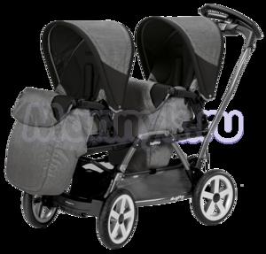 Прогулочная коляска для двойни Peg-Perego Duette Pop-Up