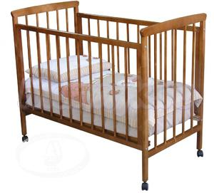 Детская кроватка на колесиках Красная звезда Можга Лия С 610
