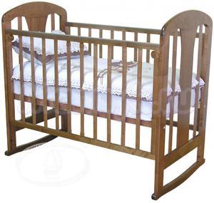 Детская кроватка-качалка Красная звезда Можга Вилона C 701