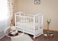 Детская кроватка-качалка Красная звезда Можга Янина С 564