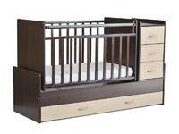 Детская кровать-трансформер на маятнике СКВ-5