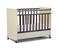 Детская кроватка на колесиках СКВ-4