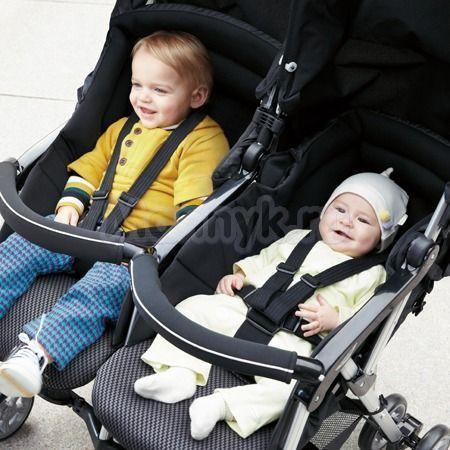 Цена прогулочных колясок для двойни