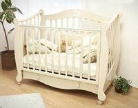 Детская кроватка на колесиках Красная звезда Можга Валерия С 749