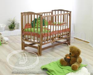 Детская кроватка с продольным маятником Красная звезда Можга Кристина С 619