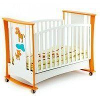 Детская кроватка-качалка Papaloni Luna