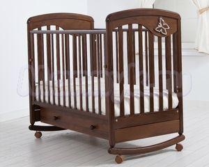 Детская кроватка Гандылян Джулия (колесо-качалка)