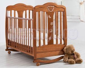Детская кроватка Гандылян Мишель (колесо-качалка)