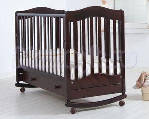 Детская кроватка Гандылян Ванечка (колесо-качалка)