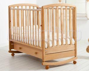 Детская кроватка Гандылян Дашенька (колесо-качалка)