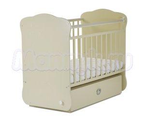 Детская кроватка с маятником СКВ-4 жираф
