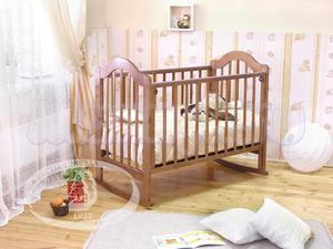 Детская кроватка-качалка Красная звезда Можга Злата C354