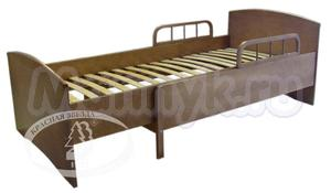 Детская кровать-трансформер раздвижная с барьером С 633 Красная звезда Можга