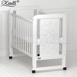 Детская кроватка Kitelli Orsetto (колеса-качалка)