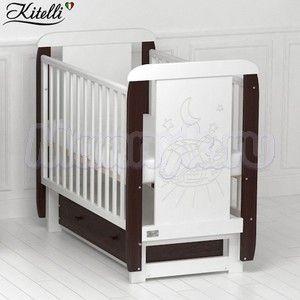 Детская кроватка Kitelli Micio (поперечный маятник)