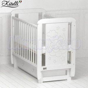 Детская кроватка Kitelli Orsetto (поперечный маятник)