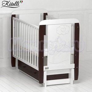 Детская кроватка Kitelli Amore (продольный маятник)