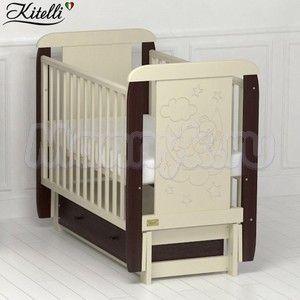 Детская кроватка Kitelli Orsetto (продольный маятник)