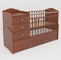 Детская кровать-трансформер СКВ-9