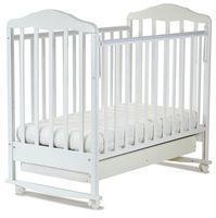 Детская кроватка СКВ Берёзка NEW (качалка) с ящиком