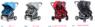 Коляска - трансформер для двойни и погодок Valco Baby Zee Spark Duo