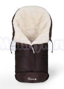 Конверт в коляску Esspero Sleeping Bag White (натуральная 100% шерсть)
